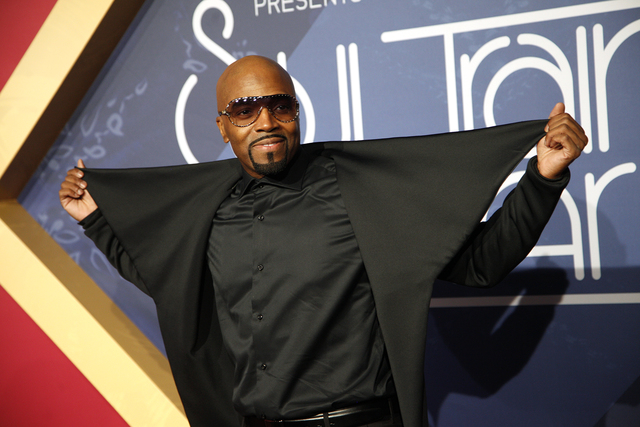 Teddy Riley walks the red carpet at the Soul Train Music Awards on Sunday, Nov. 6, 2016, at the New Orleans Arena in Las Vegas. (Rachel Aston/Las Vegas Review-Journal Follow @rookie__rae)