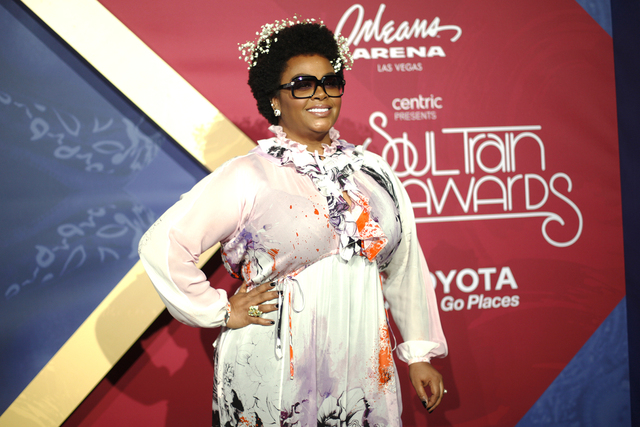 Jill Scott walks the red carpet at the Soul Train Music Awards on Sunday, Nov. 6, 2016, at the New Orleans Arena in Las Vegas. Rachel Aston/Las Vegas Review-Journal Follow @rookie__rae