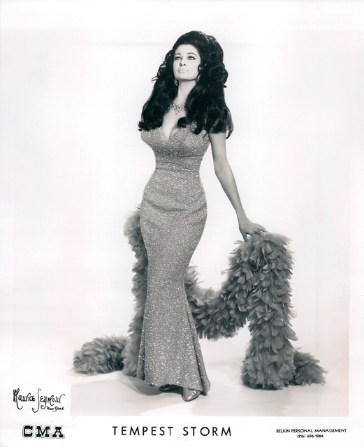 Tempest Storm in her heyday. (Courtesy/Burlesque Hall of Fame)