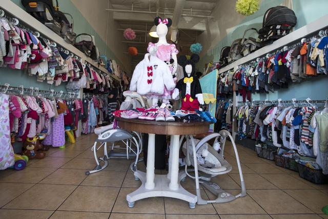 The interior of Tiny Wardrobe is shown on Thursday, Sept. 22, 2016, in Las Vegas. Loren Townsley/Las Vegas Review-Journal Follow @lorentownsley