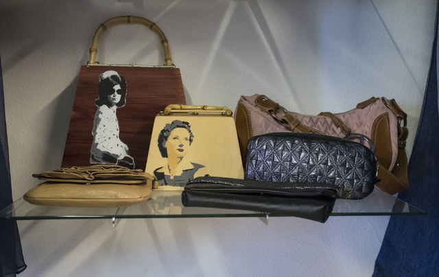 Handbags are on displays in Closet Couture on Thursday, Sept. 22, 2016, in Las Vegas. Loren Townsley/Las Vegas Review-Journal Follow @lorentownsley