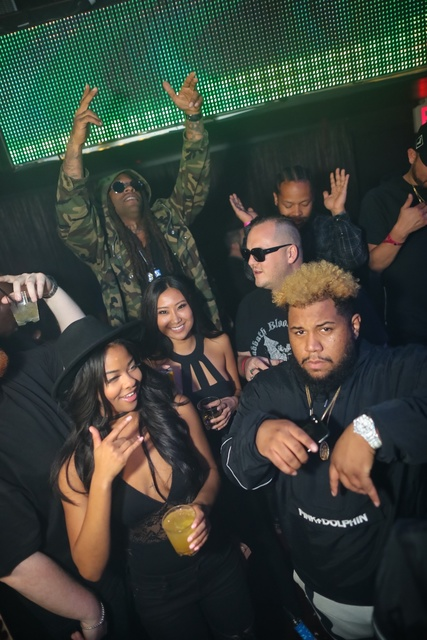 Ty Dolla $ign and Carnage at club Tao. (Tony Tran)