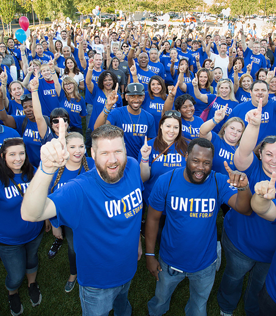 United Way of Southern Nevada's Day of Caring on Sept. 30, 2016, involved over 1,000 volunteers impacting 23 nonprofits and 16 elementary and middle schools. Projects included planting gard ...