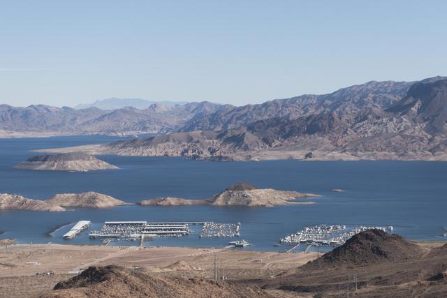 Las Vegas Boat Harbor at Lake Mead National Recreation Area is seen Thursday, Nov. 17, 2016. (Jason Ogulnik/Las Vegas Review-Journal)