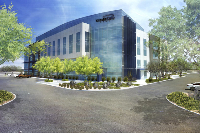 Credit One Bank will hold a ceremonial groundbreaking Dec. 6 for its four-story, 152,000-square-foot office building. (Credit One Bank)