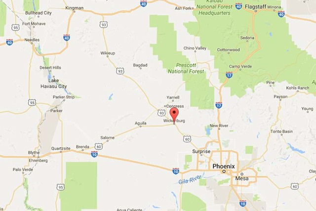 Nevada woman among 4 killed in head-on crash in Arizona ... on satellite view of nevada, regional map of nevada, satellite map of nevada, topo map of nevada, encyclopedia map of nevada,