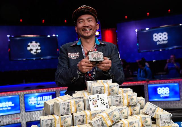 Las vegas qui nguyen used gambling instincts to win wsop las vegas review journal - Final table world series of poker ...