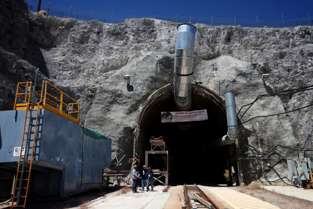 The U.S. Court of Appeals for the District of Columbia Circuit in 2013 dismissed a request by the state of Nevada that the case to resume license hearings for the Yucca Mountain nuclear waste site ...