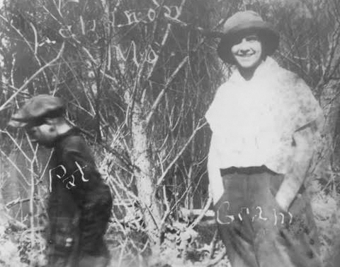 Marie Tierney and her son, Patrick, in an undated photo from a hunting trip near Lebanon, Missouri. During her lifetime, Marie would lose her 3-year-old daughter to measles and both her husband an ...