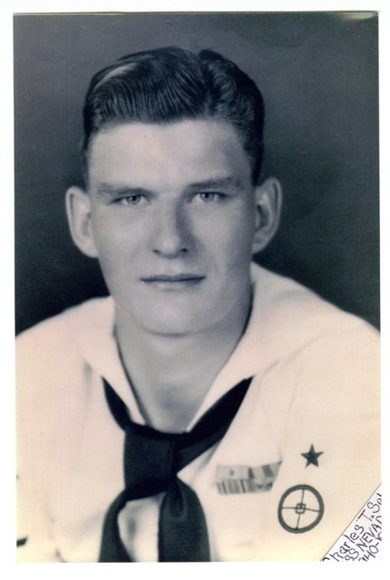 Charles Sehe is seen  in an undated Navy photo.