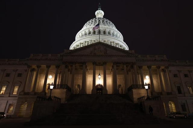 The U.S. Capitol building is seen on Capitol Hill in Washington January 28, 2014. (Jim Bourg/Reuters)