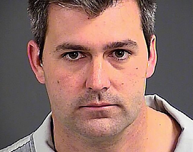 North Charleston police officer Michael Slager. (Charleston County Sheriff's Office/Handout via Reuters)