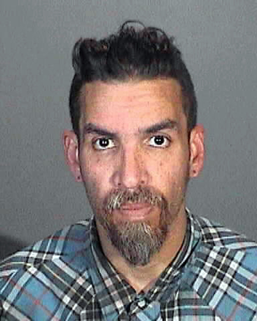 This March 12, 2015 booking photo provided by the Glendale, Calif., Police Department shows Derick Ion Almena. Almena is an operator of the Ghost Ship warehouse in Oakland, in which dozens of peop ...