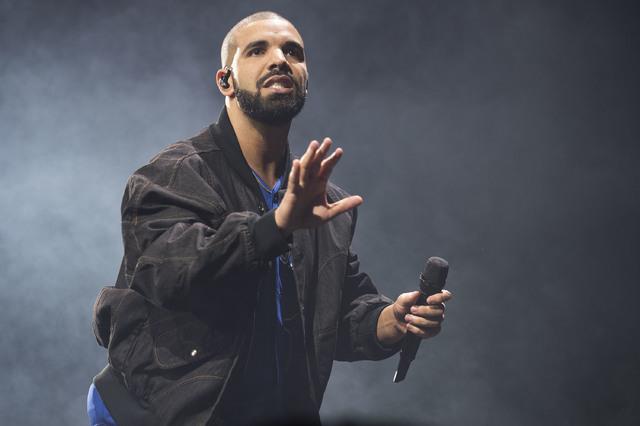 Drake performs in Toronto, Oct. 8, 2016. (Arthur Mola/Invision/AP)