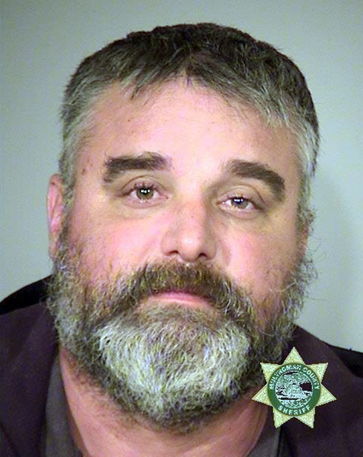 FILE- This Jan. 27, 2016 file photo provided by the Multnomah County Sheriff's Office shows Jason Patrick, one of the members of an armed group that occupied the Malheur National Wildlife Refuge i ...