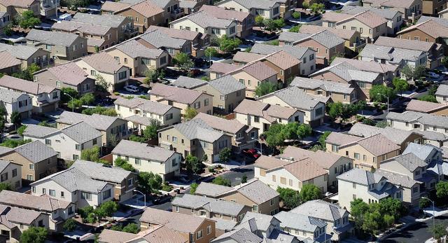 A community in North Las Vegas (David Becker/Las Vegas Review-Journal)