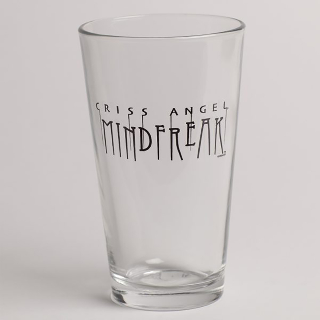 Criss Angel pint glass (Criss Angel)