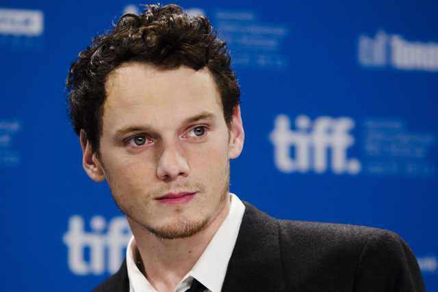 "Anton Yelchin of the film ""Like Crazy"" poses during a news conference at the 36th Toronto International Film Festival. (Mark Blinch/Reuters)"
