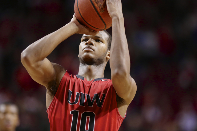 Incarnate Word's Shawn Johnson (10) shoots a free throw during the second half of an NCAA college basketball game against Nebraska in Lincoln, Neb., Wednesday, Dec. 10, 2014. Incarnate Word won 74 ...