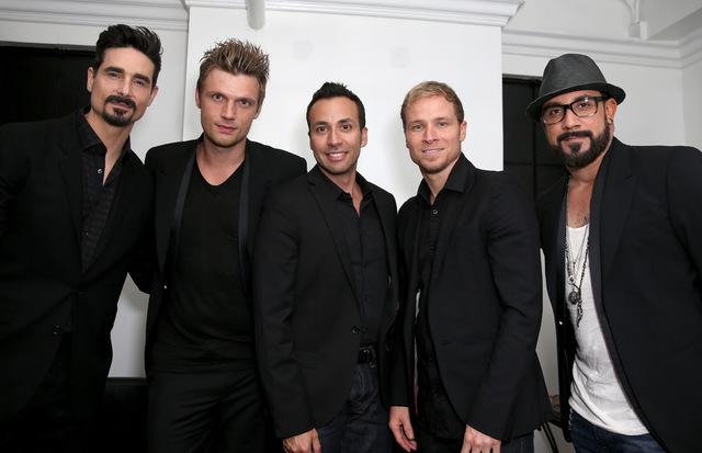 The Backstreet Boys are set to open at Axis theater at Planet Hollywood in March. (Courtesy photo)