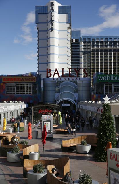 The Grand Bazaar Shops in Las Vegas on Friday, Dec. 2, 2016. (David Guzman/Las Vegas Review-Journal) @DavidGuzman1985