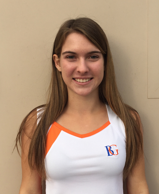 Angelique Friedrich, Bishop Gorman: The sophomore teamed with Emma Figuerdo to win the Class 4A state and Sunset Region doubles tournaments. Friedrich made the All-Sunset Region first team and led ...
