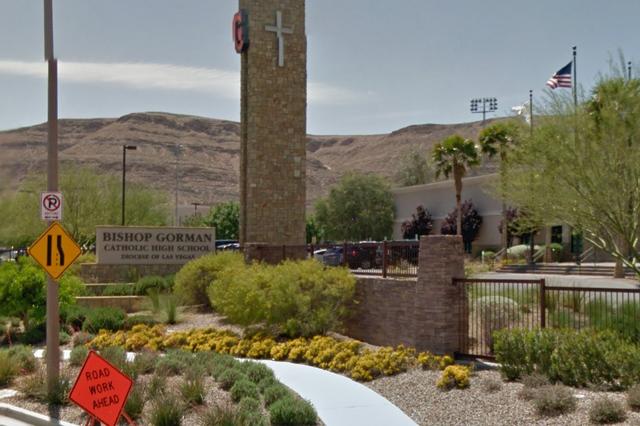 Bishop Gorman Catholic High School (Google Street View)