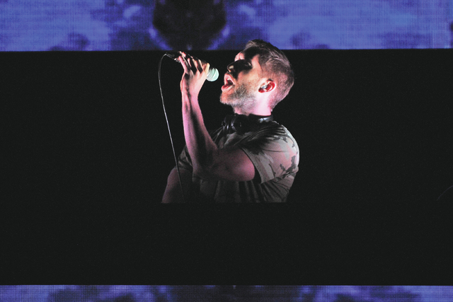 Calvin Harris performs at The B96 Pepsi Summer Bash at the Allstate Arena on Sunday, June 26, 2016, in Rosemont, Ill. (Photo by Rob Grabowski/Invision/AP)