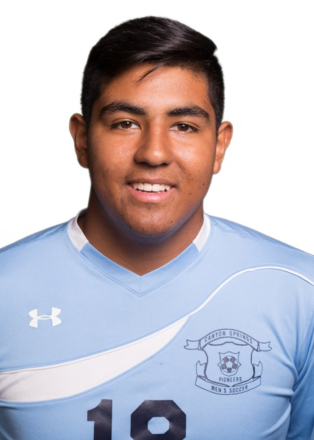 Cesar Becerra, Canyon Springs: The senior was named Defensive Player of the Year in the Northeast League and earned a spot on the Class 4A All-Southern Nevada team. He helped the Pioneers to a fif ...