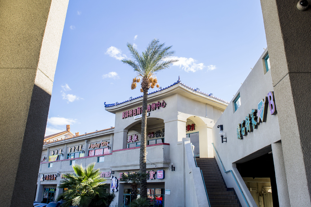 Restaurants and stores are pictured in the Las Vegas Chinatown Plaza, 4255 Spring Mountain Road,  Chinatown Dec. 2, 2016, Las Vegas. Elizabeth Page Brumley/Las Vegas Review-Journal Follow @EliPage ...