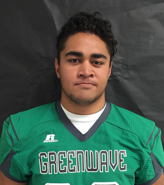 DL T.J. Mauga, Churchill County (6-4, 250): The senior had 73 tackles, 18 tackles for loss and eight sacks. Mauga earned a spot on the Class 3A All-Northern Region first team.