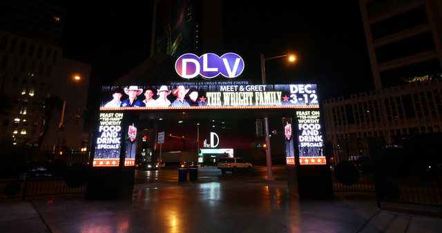 The D has joined the Golden Nugget as downtown spots that host official Wrangler NFR parties, concerts and other special events throughout the week. (Special to the Las Vegas Review-Journal)
