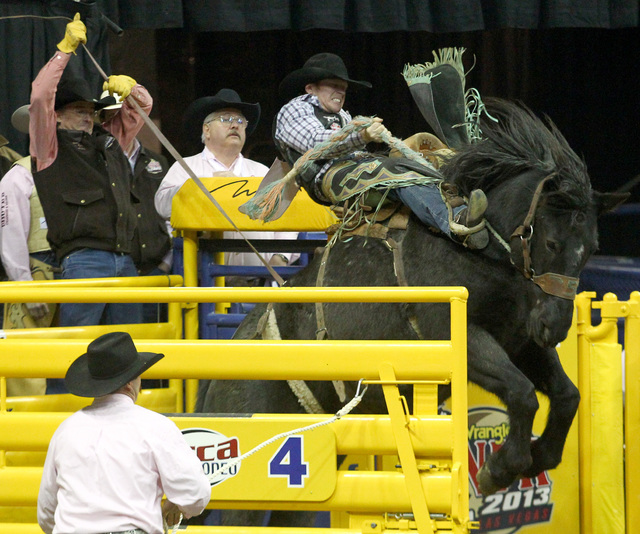 Jacobs Crawley is happy that his brother Sterling has joined him once again in competition at the Wrangler NFR. Jacobs is the defending world champion in saddle bronc riding and was sitting No. 1  ...