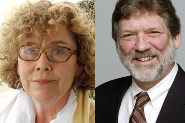 Debra J. Saunders and Gary Martin (Courtesy)