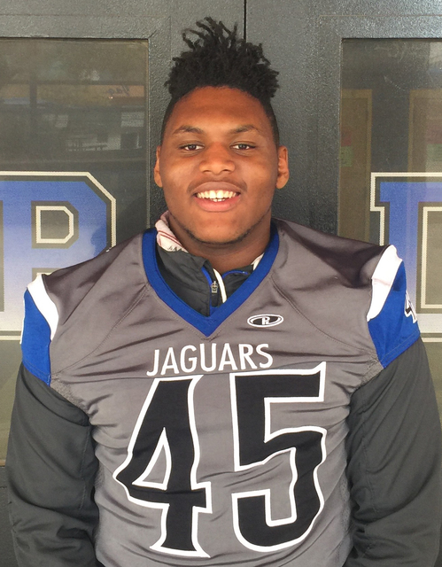 DL Jalen Graves, Desert Pines (6-1, 250): The senior finished the regular season with 44 tackles and 10 sacks. Graves was the Class 3A Sunset League and Southern Region Defensive MVP. He has commi ...