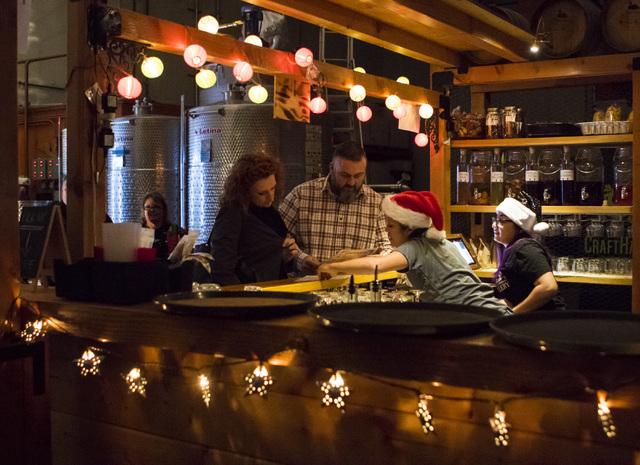 The Hooch at the Las Vegas Distillery in Henderson on Friday, Dec. 9, 2016. (Miranda Alam/Las Vegas Review-Journal) @miranda_alam