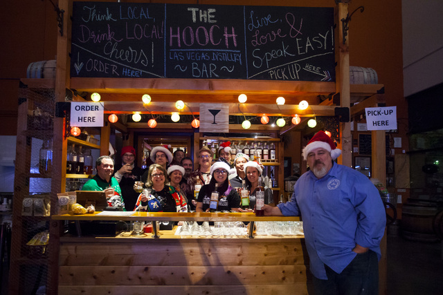 Owner George Racz at the Hooch at the Las Vegas Distillery in Henderson on Friday, Dec. 9, 2016. (Miranda Alam/Las Vegas Review-Journal) @miranda_alam