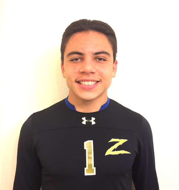 Paolo Sarnataro, Durango: The senior goalkeeper was named to the Class 4A All-Southern Nevada team after leading the region with 12 shutouts. He was named Goalkeeper of the Year in the Southwest L ...