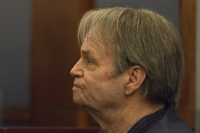 Terry Fulton appears in court at the Regional Justice Center in Las Vegas, Monday, Oct. 24, 2016. Jason Ogulnik/Las Vegas Review-Journal
