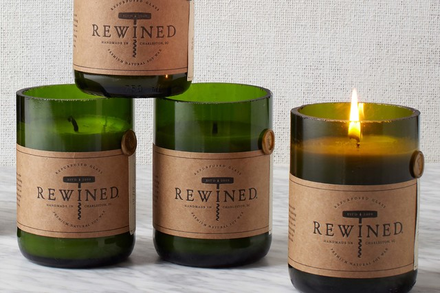 Rewined Candles (West Elm)