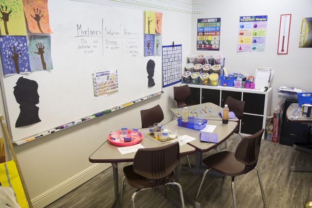 A classroom at Nasri Academy on Wednesday, Nov. 16, 2016, in Henderson. Erik Verduzco/Las Vegas Review-Journal Follow @Erik_Verduzco