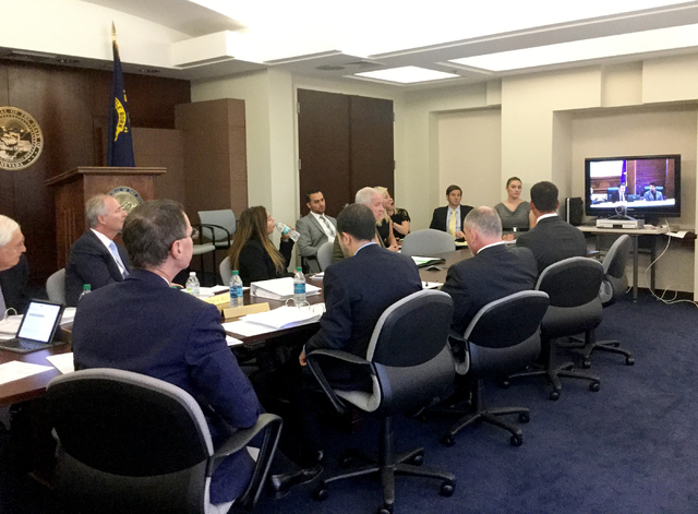 Gov. Brian Sandoval in Reno, heading up the Governor's Office of Economic Development board, approved spending a total over $25 million in tax abatements in return for over $44 million in n ...