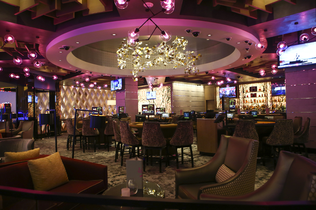 Tail Lounge Blossom During A Tour Of The Mgm National Harbor In Oxon Hill Md