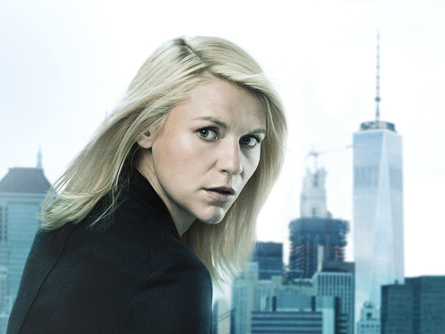 Claire Danes as Carrie Mathison in Homeland (Season 6, PR Art). - Photo: Jim Fiscus/SHOWTIME