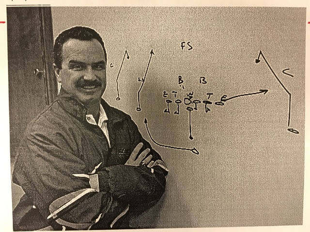This April 29, 1994 file photo shows UNLV football coach Jeff Horton. (Wayne Kodey/Las Vegas Review-Journal)