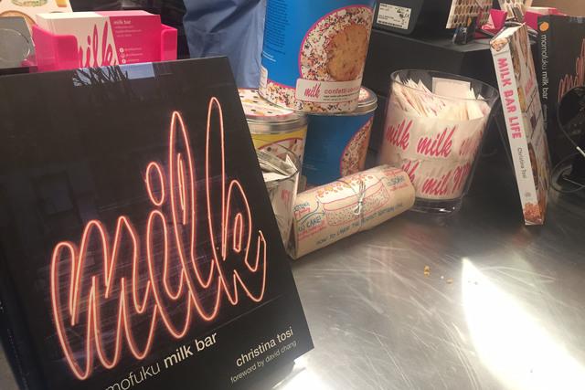 Milk Bar, the offshoot of the New York landmark Momofoku opened at The Cosmopolitan of Las Vegas Friday, December 30, 2016. (Al Mancini)