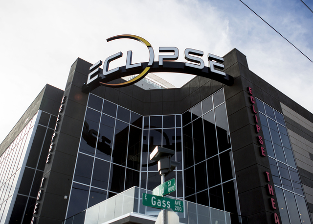 The recently opened Eclipse Theatre is open as of Wednesday, November 30, 2016, Wednesday, Dec. 7, 2016, 814 S. Third Street, Downtown Las Vegas, Wednesday, Dec. 7, 2016, Las Vegas. (Elizabeth Pag ...
