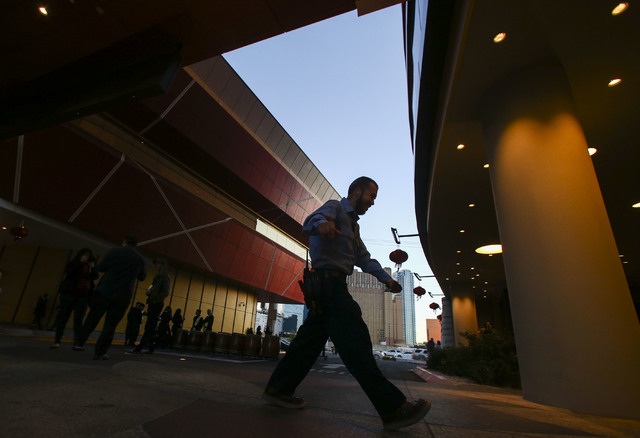 The exterior of the Lucky Dragon hotel-casino in Las Vegas on Saturday, Dec. 3, 2016. (Chase Stevens/Las Vegas Review-Journal) @csstevensphoto