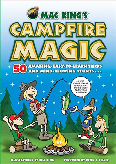 'Mac King's Campfire Magic' book (Courtesy)