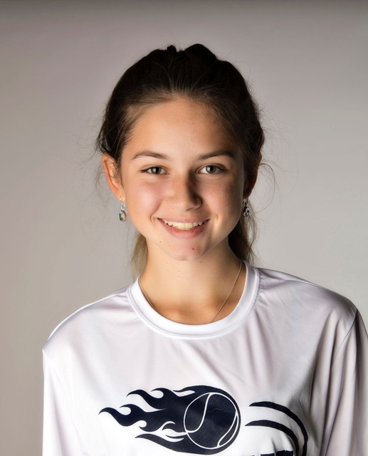Peyton Barcel, The Meadows: The freshman teamed with Sara Blenkiron to place third in the Class 3A state and Southern Region doubles tournaments. They also helped the Mustangs win the state and re ...